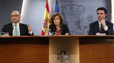 Spain unveils deep budget cuts