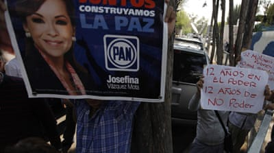 Mexico presidential hopefuls launch campaigns