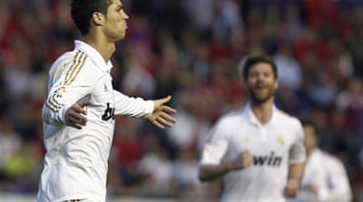 Ronaldo shines for Real Madrid
