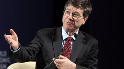 "Fareed Zakaria praised Sachs as ""the go-to man for guiding countries out of economic crises"" [EPA]"