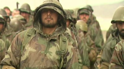 Afghan troop training faces challenges