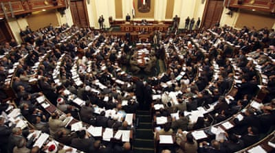 Egypt MPs in no-trust motion against govt