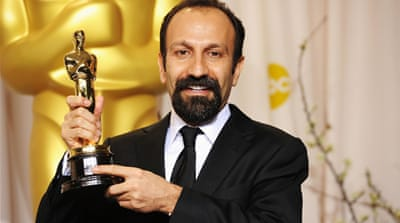 Asghar Farhadi's win for Best Foreign Language Film at the 84th Academy Awards marks the first time an Iranian film has won the prestigious award [GALLO/GETTY]