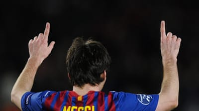 Magical Messi makes history