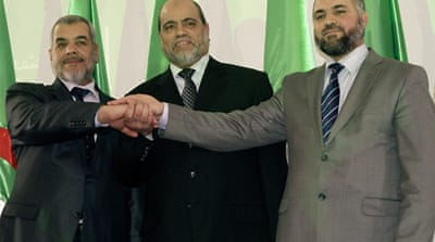 Algerian Islamist parties unite for election