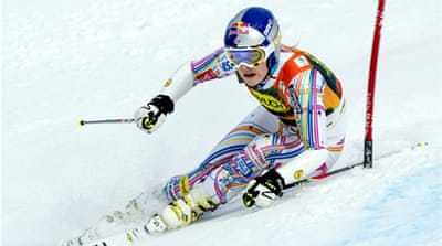Lindsey Vonn wins Alpine World Cup