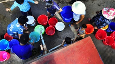 Are more people getting safe drinking water?