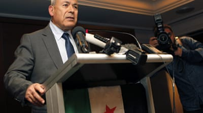 Syria opposition presses for 'serious action'