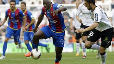 Valencia held by Levante