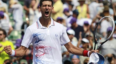 Djokovic downs Murray to win in Miami