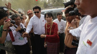 Suu Kyi 'wins seat' in Myanmar parliament