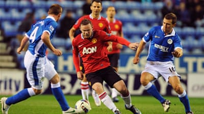 United stunned at Wigan