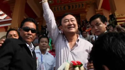 Thaksin says he plans to return to Thailand