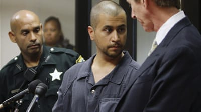Zimmerman in the courtroom after making his first appearance on second degree murder charges [Reuters]