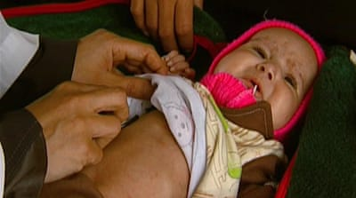 Yemeni children bear brunt of food crisis