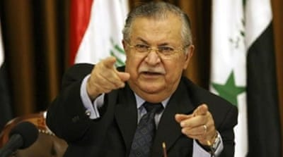 Talabani has struggled with various health problems in recent years [EPA]
