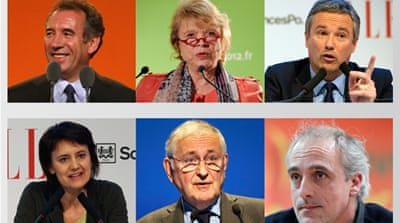 Profiles: France's 'other' candidates
