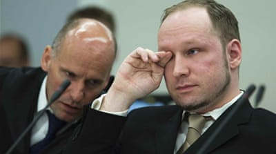 Norway mass killer denies 'criminal guilt'
