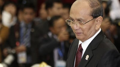 President Thein Sein's reforms are putting an end to his country's diplomatic isolation [Reuters]