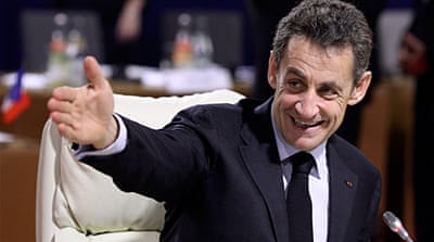 'Together, everything becomes possible,' was one of Nicolas Sarkozy's 2007 campaign slogans [GALLO/GETTY]