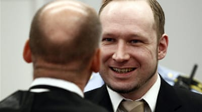 Breivik glorifies Norway mass killings