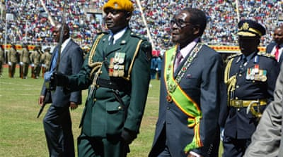 President Mugabe, who has led Zimbabwe for 33 years, is looking to again extend his time in power [AFP]