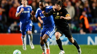 Drogba puts Chelsea in front