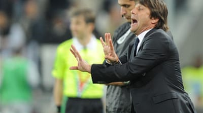 Conte coy over Juve title hopes