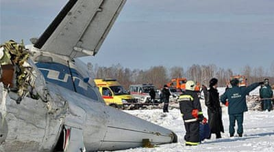 Dozens killed in Siberia plane disaster