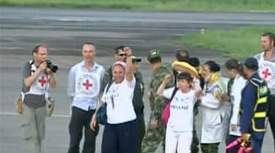 Colombia's FARC rebels free hostages