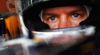 Sebastian Vettel back on pole