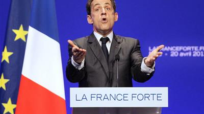 Sarkozy stresses unity as he ends campaign