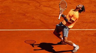 Nadal claims eighth Monte Carlo Masters
