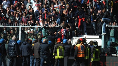 Genoa closes door on fans