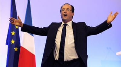 Hollande wins first round in French election