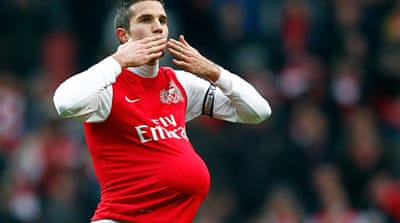 In Pictures: Robin van Persie highlights