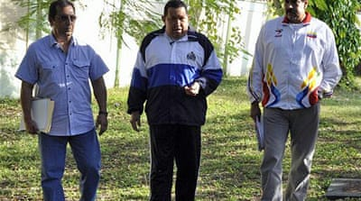President Chavez has kept details of the type of cancer he is afflicted with secret [Reuters]