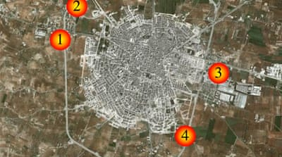 Map: Exclusive aerial images of Syria