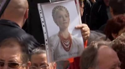 Doctors' plea for Ukraine's jailed Tymoshenko