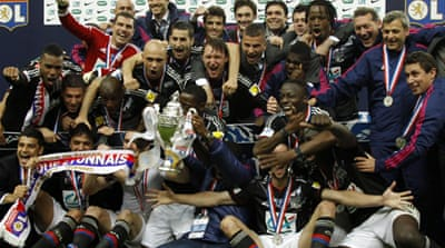 Lyon win French Cup final