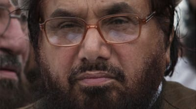 Hafiz Saeed is suspected of masterminding   attacks on India's parliament and its financial capital Mumbai [Reuters]