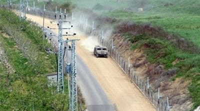 The Lebanese-Israeli border has witnessed sporadic clashes since the 2006 conflict between Israel and Lebanon [AFP]