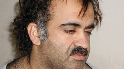Khalid Sheikh Mohammed is one of five suspects to be tried before a Guantanamo military tribunal [EPA]