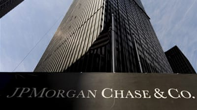 Despite losing at least $2bn on a series of trades gone bad, JPMorgan will still probably turn a profit this quarter [EPA]