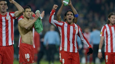 Spanish trio and Sporting reach Europa semis