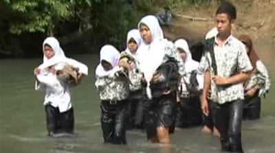 Building bridges to education in Indonesia