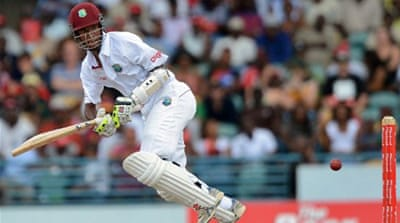 Windies make a positive start