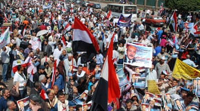 Egypt presidency nomination race heats up