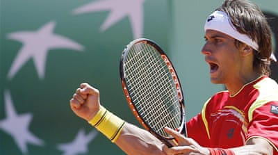 Spain to meet US in Davis Cup semis