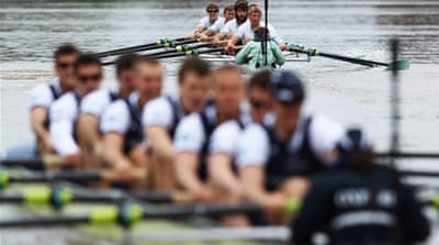 In Pictures: The Boat Race